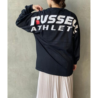 DEUXIEME CLASSE - [RUSSELL ATHLETIC/ラッセルアスレティック]バックプリントロンT