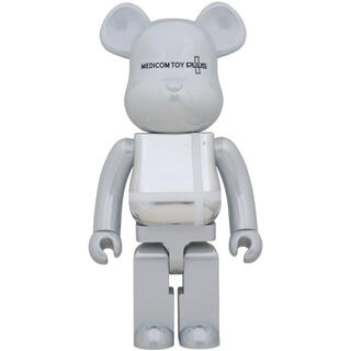 MEDICOM TOY - BE@RBRICK MEDICOM TOY PLUS WHITE CHROME