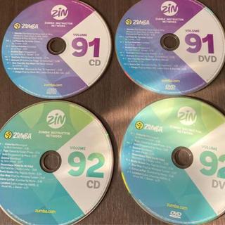 ズンバ(Zumba)のZumba CD  DVD No91〜92 megamix CD No79〜82(スポーツ/フィットネス)