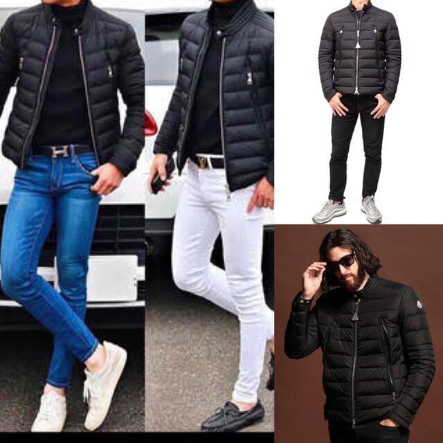 MONCLER(モンクレール)のモンクレール 正規品 AMIOT サイズ6 ブラック  メンズのジャケット/アウター(ダウンジャケット)の商品写真