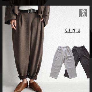 antiqua - アンティカ、KINU、パンツ