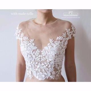 高品質!ウエディングドレス ボレロ 花嫁/ウェディングドレス/ブライズメイド