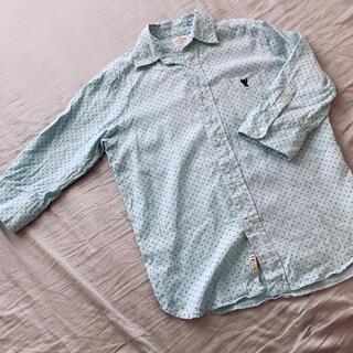coen - coen⭐︎メンズ 水玉 フレンチリネンシャツ