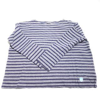 オーシバル(ORCIVAL)のORCIVAL シャツ ネイビー/ボーダー(Tシャツ(長袖/七分))