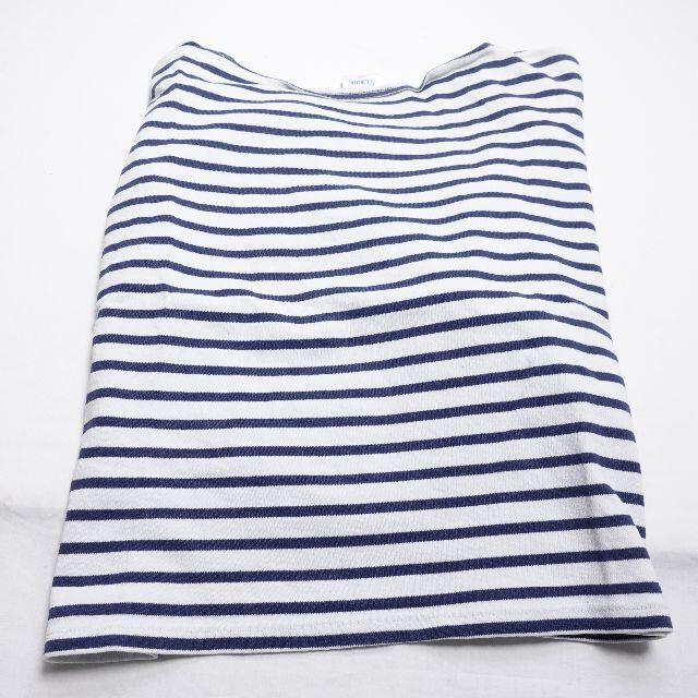 ORCIVAL(オーシバル)のORCIVAL シャツ ネイビー/ボーダー レディースのトップス(Tシャツ(長袖/七分))の商品写真