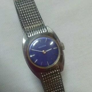 ウォルサム(Waltham)の美品~WALTHAMレディース手巻き時計~(腕時計)