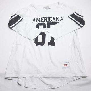 アメリカーナ(AMERICANA)のAMERICANA Tシャツ ホワイト(Tシャツ(長袖/七分))