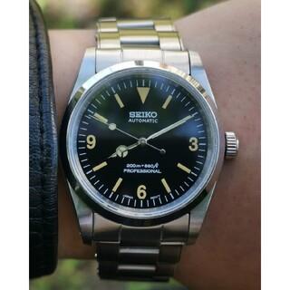 SEIKO - SEIKO セイコー mod カスタム 腕時計 ビンテージ エクスプローラー n