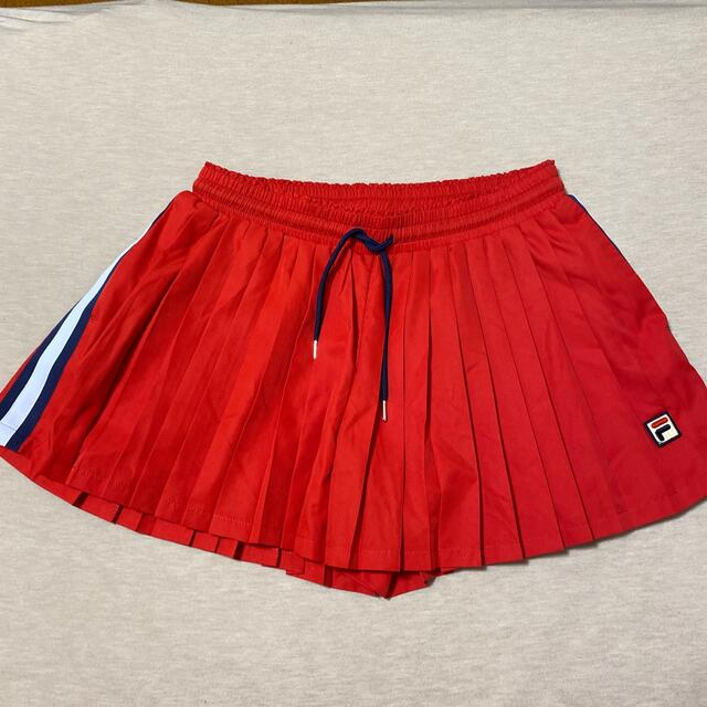 FILA(フィラ)の専用出品です フィラ  プリーツキュロット  スポーツ/アウトドアのテニス(ウェア)の商品写真