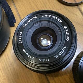 OLYMPUS - オリンパス交換レンズG,ZUIKO  28mm F3.5