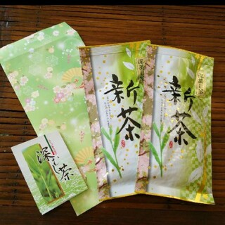 ☆★2021年 静岡の高級茶★☆農家直送100グラム×2袋♪(茶)