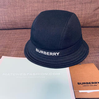 BURBERRY - Burberry ロゴ バケットハット