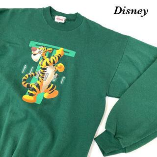 メンズ レディース Disney tigger ティガー スウェット ビンテージ