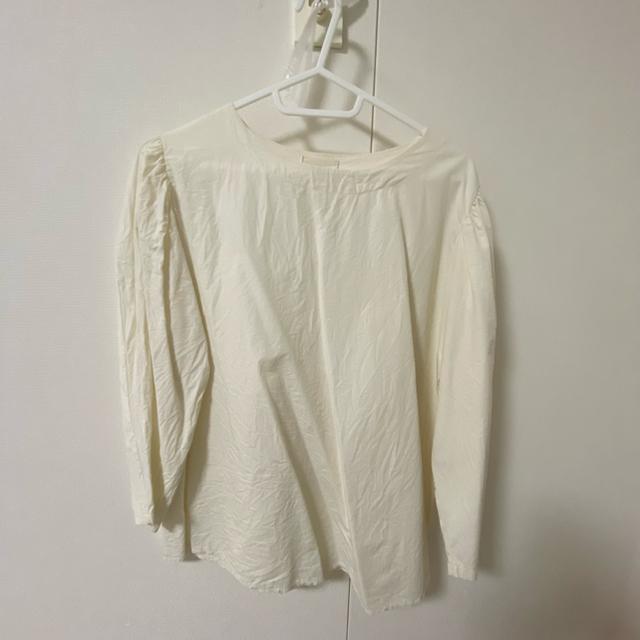 Kastane(カスタネ)のlawgy shoulder puff blouse レディースのトップス(シャツ/ブラウス(長袖/七分))の商品写真