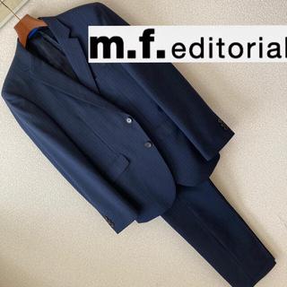 エムエフエディトリアル(m.f.editorial)の良品◆m.f.editorial◆シャドーストライプ セットアップ スーツ Y4(セットアップ)