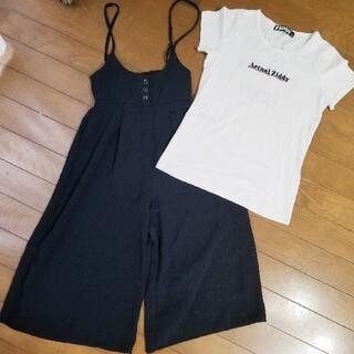 イッカ(ikka)のikka サロペット 140 ZIDDY Tシャツ 150(パンツ/スパッツ)