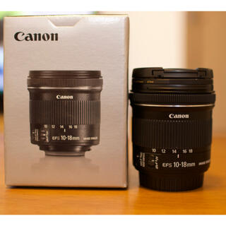 Canon - Canon EF-S10-18F4.5-5.6 IS STM
