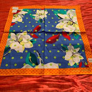 Vivienne Westwood - ヴィヴィアンウエストウッド 花柄ハンカチーフ 日本製 未使用