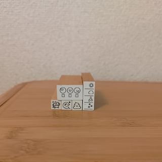 スタンプ5個セット(育児日記に!)