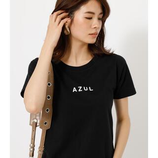 アズールバイマウジー(AZUL by moussy)のAZUL LOGO TEE/AZULロゴTシャツ アズール マウジー(Tシャツ(半袖/袖なし))