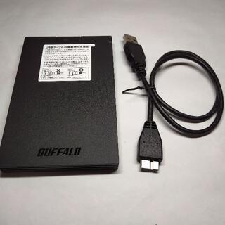 BUFFALO PlayStation4・5 外付け高速SSD 480GB ①