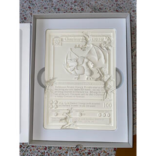 daniel arsham×Pokemon 石版リザードン・ホワイト(彫刻/オブジェ)