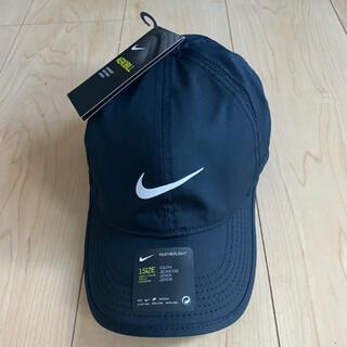 ナイキ(NIKE)のNIKE 帽子 キャップ  エアロビル フェザーライト ブラック ジュニア 新品(キャップ)