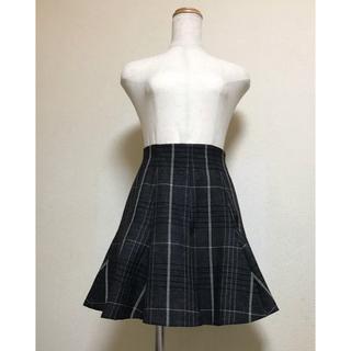 Christian Dior - dior☆チェック柄スカート