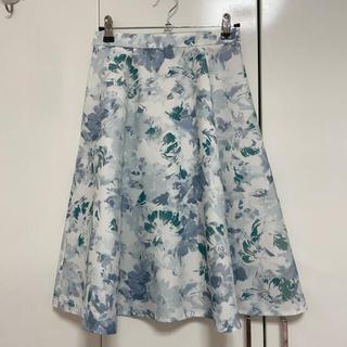 JUSGLITTY - ジャスグリッティーの花柄スカート