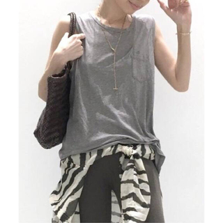 L'Appartement DEUXIEME CLASSE - アパルトモン JAMES PERSE Tank Top◆グレーA