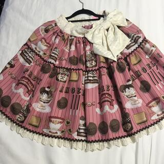 Angelic Pretty - cream cookie parade スカート ピンク