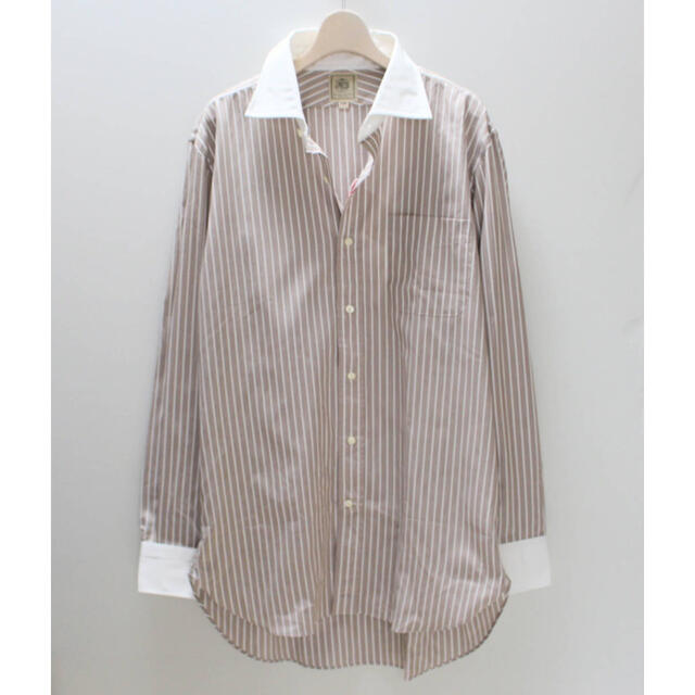 J.PRESS(ジェイプレス)の《ジェイプレス》新品訳有 100%スーパーコットン クレリックシャツ 41-85 メンズのトップス(シャツ)の商品写真