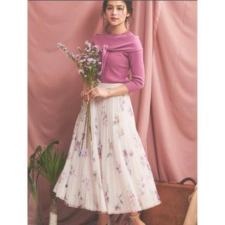 Noela - チュールプリントスカート