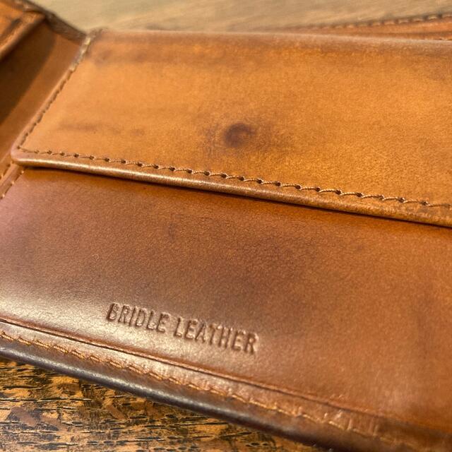 WHITEHOUSE COX(ホワイトハウスコックス)のWhitehouseCox ホワイトハウスコックス  折り財布 メンズのファッション小物(折り財布)の商品写真