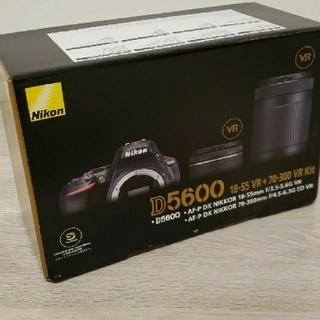 Nikon - Nikon D5600 ダブルズームキット 新品未使用