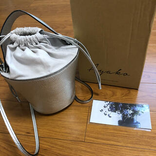 Drawer - 【希少】ayako バッグ pottery bag silver