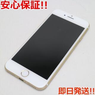 アイフォーン(iPhone)の超美品 UQmobile iPhone7 128GB ゴールド (スマートフォン本体)