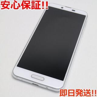 シャープ(SHARP)の美品 SIMフリー SH-M07 ホワイト 本体 白ロム (スマートフォン本体)