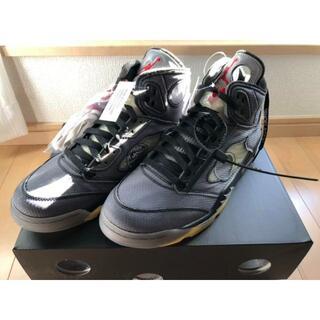28.0 Off-White×NIKE Air Jordan 5(スニーカー)