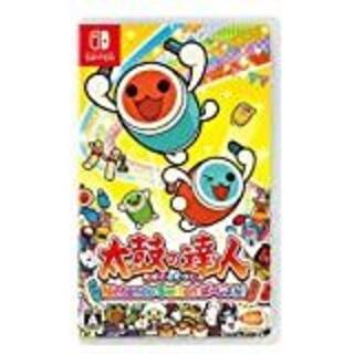 Nintendo Switch - 新品未開封 太鼓の達人- Nintendo Switchば~じょん