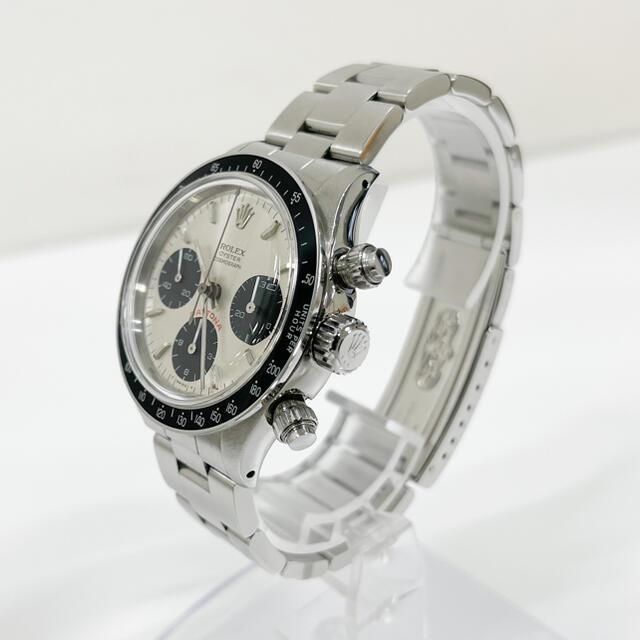 ROLEX(ロレックス)のカスタム 6263 デイトナ バルジュー726 シルバー ロレックス メンズの時計(腕時計(アナログ))の商品写真