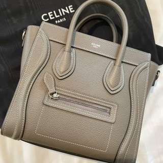 celine - CELINE ラゲージ ショルダーバッグ
