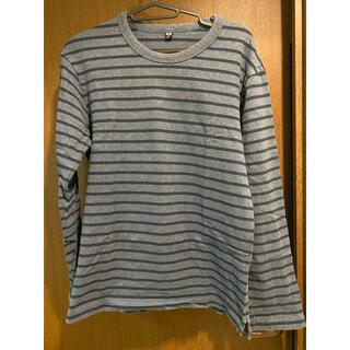 ユニクロ(UNIQLO)のUNIQLO ロングTシャツ(Tシャツ/カットソー(七分/長袖))