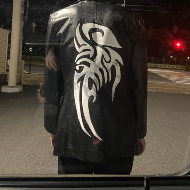 ART VINTAGE(アートヴィンテージ)のUSED leather jacket メンズのジャケット/アウター(レザージャケット)の商品写真