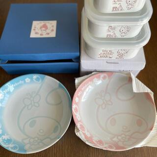 サンリオ - マイメロお皿&キティホーロー3点セット