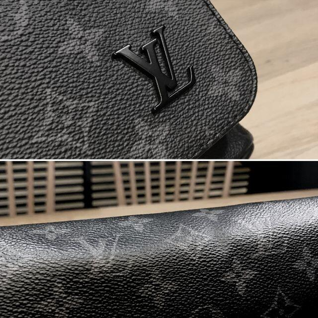 LOUIS VUITTON(ルイヴィトン)の超美品 ルイヴィトン モノグラムエクリプス ディストリクト MM NM メンズ メンズのバッグ(ショルダーバッグ)の商品写真