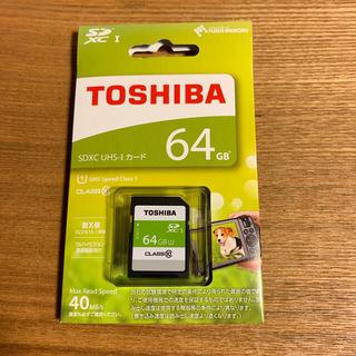 トウシバ(東芝)のSDXC UHS-I カード     64GB(その他)