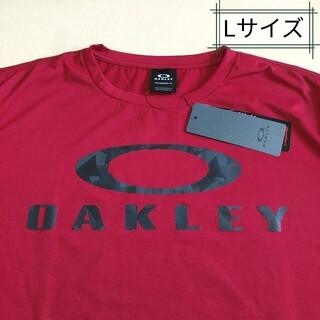 オークリー(Oakley)のOAKLEY ロゴTシャツ、オークリー Tシャツ、ビッグロゴTシャツ、Lサイズ(Tシャツ/カットソー(半袖/袖なし))