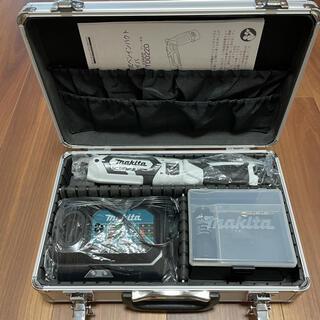 マキタ(Makita)のマキタ makita 充電式ペンインパクトドライバー TD022DSHX 白(工具/メンテナンス)