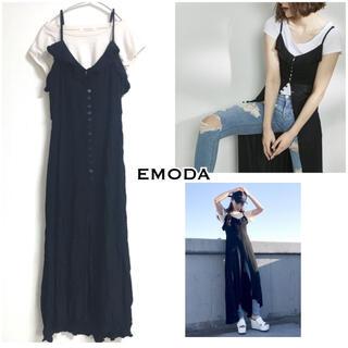 エモダ(EMODA)のEMODA 大人気完売 2wayロングワンピース(ロングワンピース/マキシワンピース)